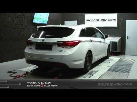 mcchip dkr Leistungssteigerung Chiptuning Hyundai I40 1 7 CRDI