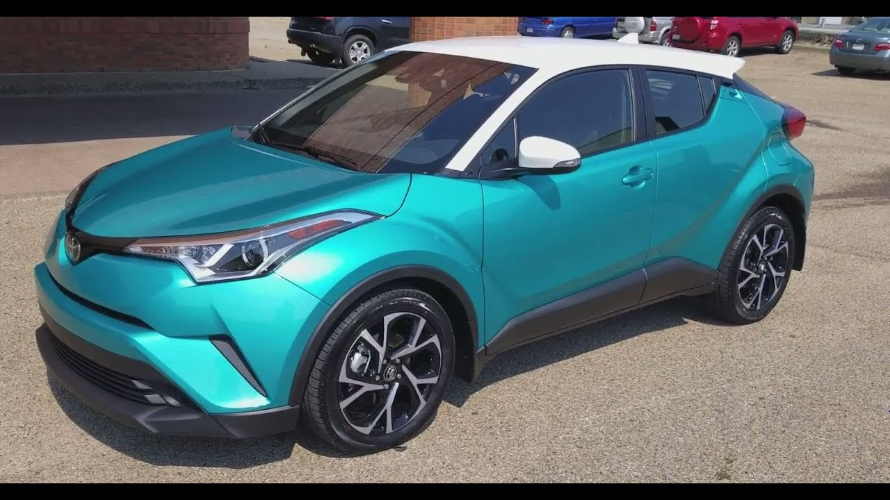 2018 Toyota C HR XLE Premium Package in Radiant Green with ...
