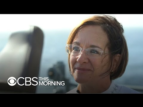 How Vice Admiral Lisa M Franchetti Became The U.S. Navy's Only Female Fleet Commander