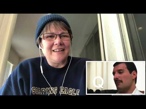 REACTION ~ Queen ~ Learning The Alphabet with Freddie Mercury