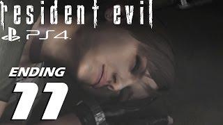 Resident Evil HD Remaster (PS4) - Chris Walkthrough Part 11 - Final Boss & Best Ending