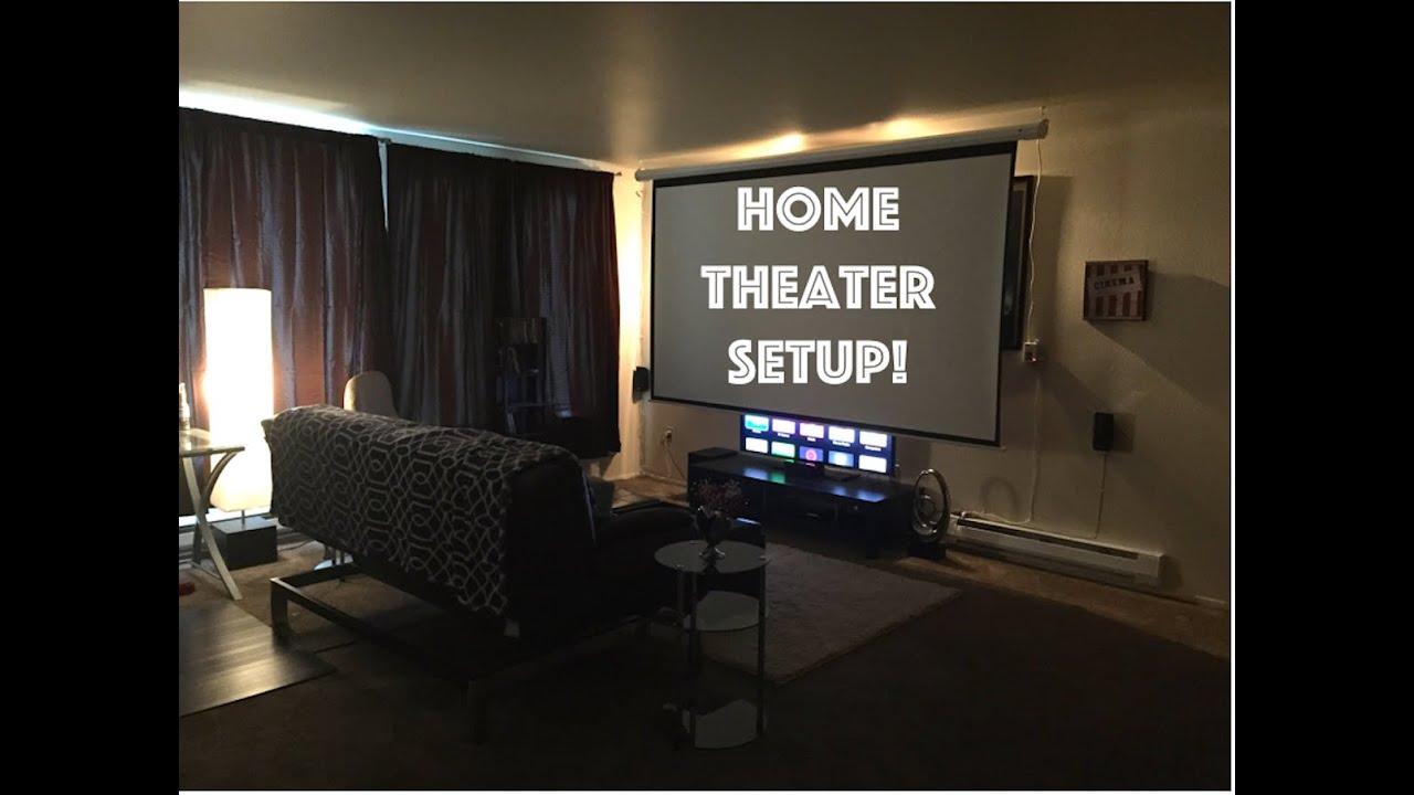 Home Theater setup 2015 - YouTube