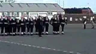 Royal Navy Passing in parade