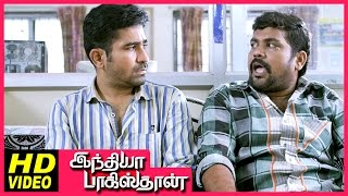 India Pakistan Tamil Movie | Scenes | Sharath Lohitashwa threatens Vijay Antony for the DVD