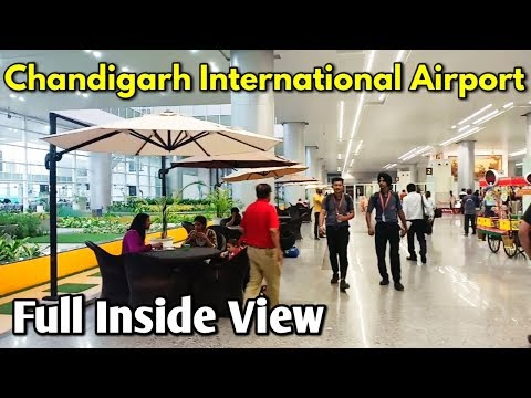 Chandigarh International Airport Full Inside View / Mohali Chandigarh International Airport