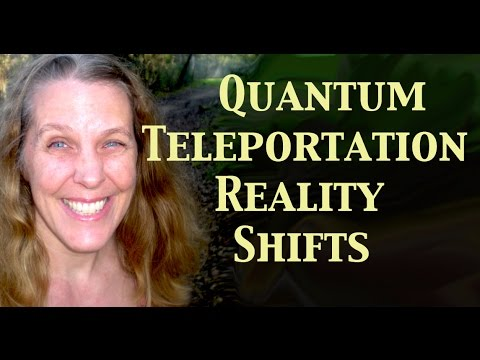 Quantum Teleportation Reality Shifts