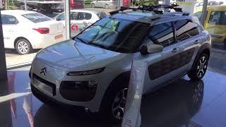 Автомобили 2018 Новинка Citroen C4 Cactus Автомобиль Ситроен Тест драйв