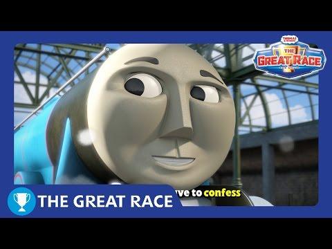 Will You Won't You | The Great Race Karaoke! | Thomas & Friends