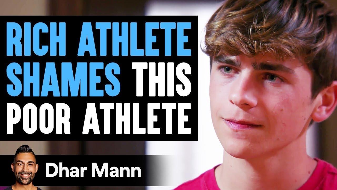 Download Rich Athlete SHAMES This POOR ATHLETE, What Happens Next Is Shocking   Dhar Mann