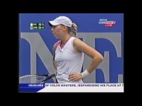 Mary Pierce vs Vera Zvonareva - Linz 2006 - Mary's last match PART 1