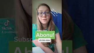 """How to say """"subscribe"""" in #Esperanto #shorts"""