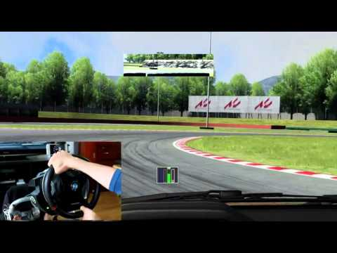 Assetto Corsa - Wheel Cam - Clutch and H-gate Manual Transmission Mechanics
