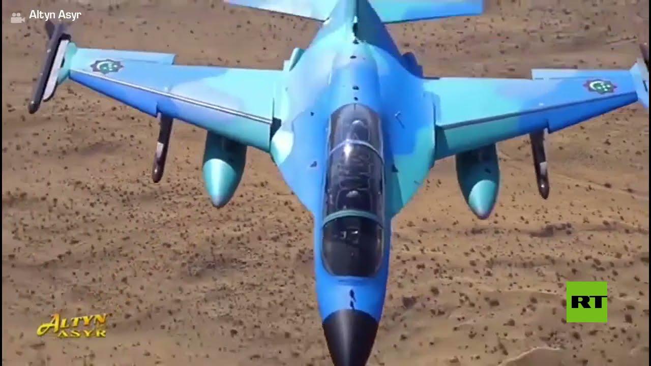 رئيس تركمانستان يختبر بنفسه طائرة مقاتلة  - نشر قبل 3 ساعة