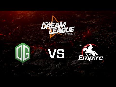 OG vs Empire - DreamLeague S4 - Grand Final - G1
