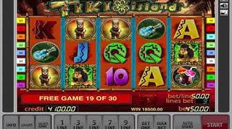 Tiki Island Slot Machine   Free Games Bonus And Biggest Win