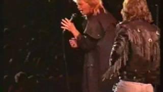 John Farnham Jimmy Barnes - When The War Is Over - Live 1988