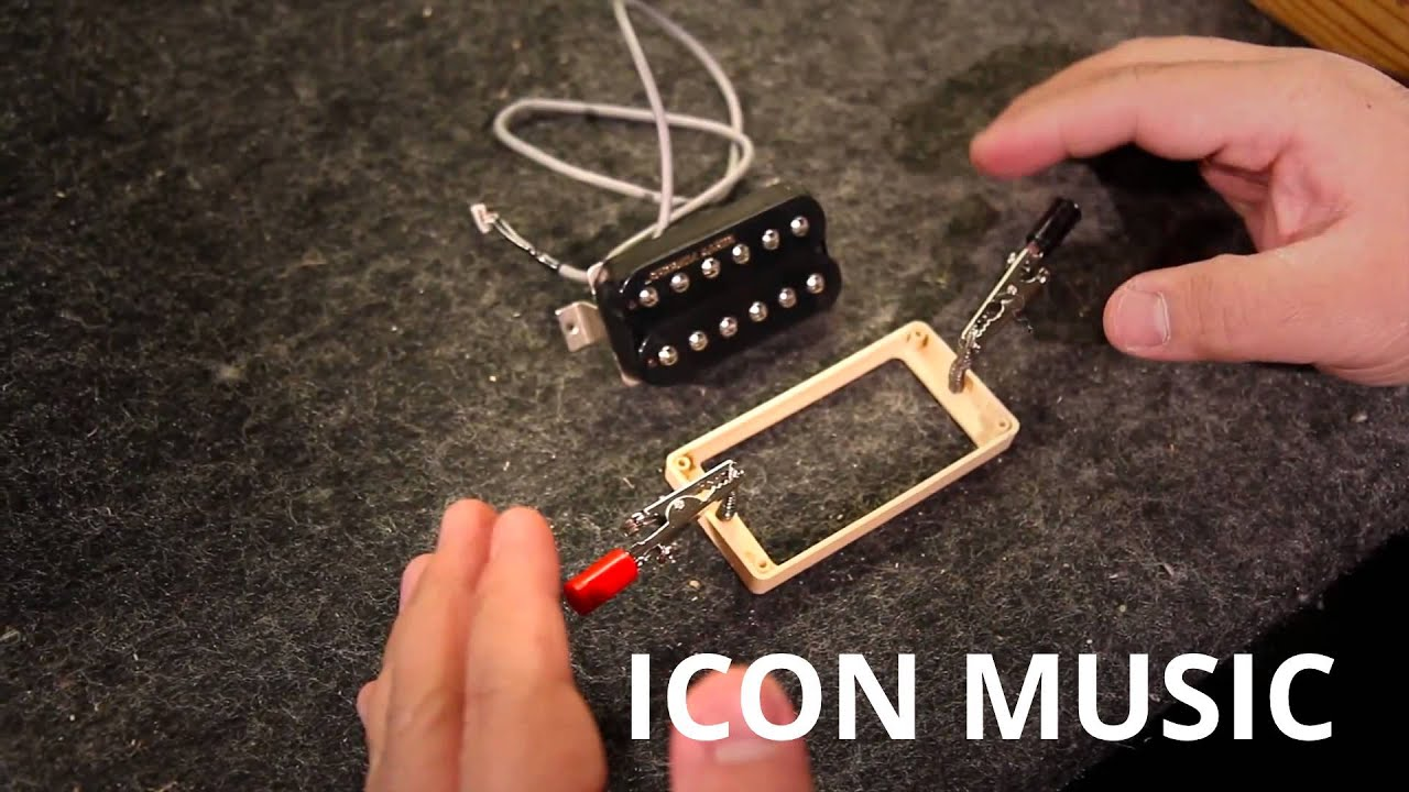 How To Pickup Installation By Gibson Quick Connect At Icon Music Burstbucker 2 Wiring Schematic