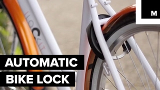 Automatic smart bike lock is both convenient and secure
