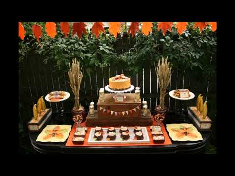 Awesome Fall birthday party decorating ideas