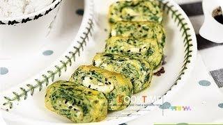 [다이어트 요리]다이어트식 시금치 달걀말이_쿡타임 [D…