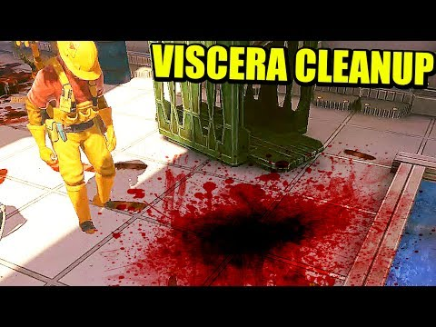 VISCERA CLEANUP - LIMPIANDO RESTOS ALIENÍGENAS | Gameplay Español