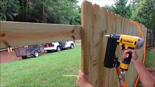 Gambar cover How to Build a Privacy Fence! (on a budget)