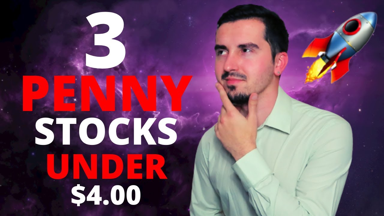 Download 3 Penny Stocks To Buy NOW??   Under $4.00   HUGE Upside Potential?   🚀