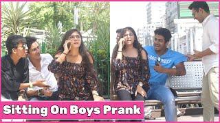 Girl Sitting On Boys Prank | The Prank Express | Khyati Sharma