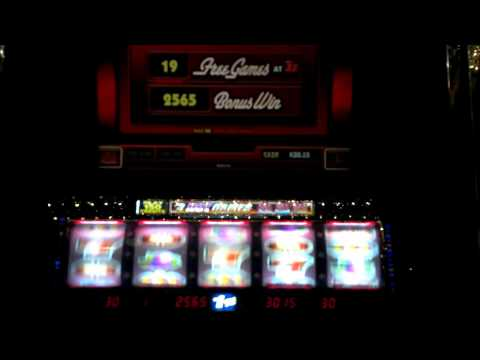 Blazing 7s slot machine free spins bonus with four retriggers from YouTube · High Definition · Duration:  4 minutes 34 seconds  · 5000+ views · uploaded on 05/03/2012 · uploaded by flashhy1