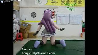 Hongyi Inflatable Carton Girl