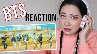 JAPANESE AUSSIE REACTS TO BTS FOR THE FIRST TIME | DNA MV
