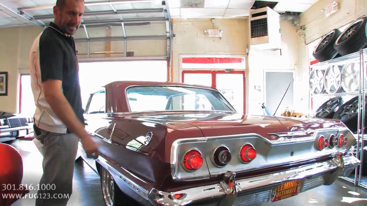 All Chevy 63 chevy 409 : 450hp 1963 Chevrolet Impala SS409 for sale with test drive ...