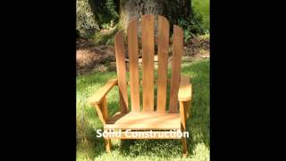 Oceanic Teak Furniture Adirondack Chairs