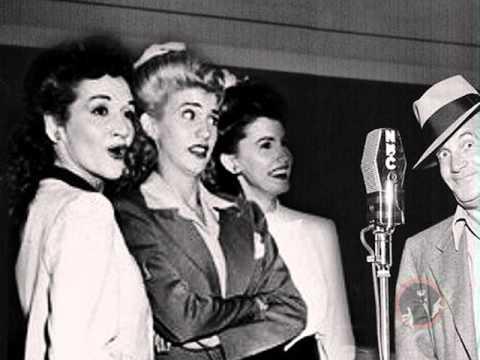 Al Jolson & Andrews Sisters on Kraft Music Hall February 24, 1949 - video podcast