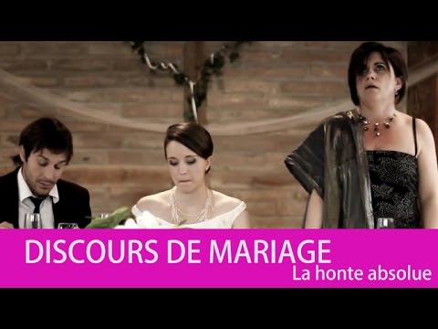 discours de mariage humoristique 3 discours de la m re malaise absolue youtube. Black Bedroom Furniture Sets. Home Design Ideas