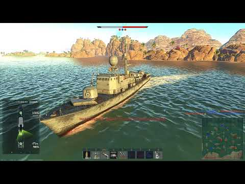 War Thunder Naval Ships Testing : German Navy on the African gulf Map