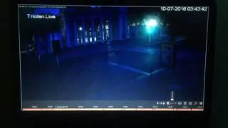 Видео движения патрульного автомобиля перед аварией на ул.Сумской. Маячки включены.(, 2016-07-12T13:58:40.000Z)