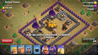 How to beat Rolling Terror (Clash of Clans)- 2019