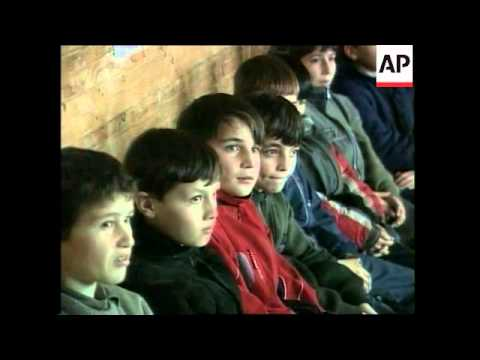 Plight of Chechen refugees who have fled into Ingushetia