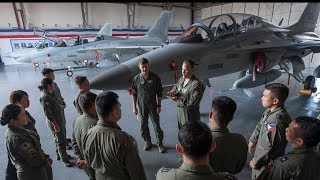 Philippine Air Force and US Air Force  Military Equipment Exchange
