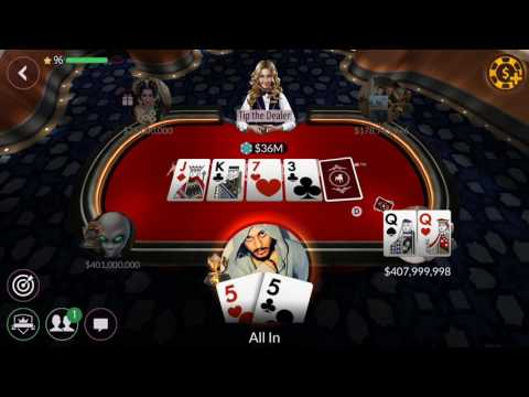 Zynga Poker - 20Million table. Win 200,000,000 chips