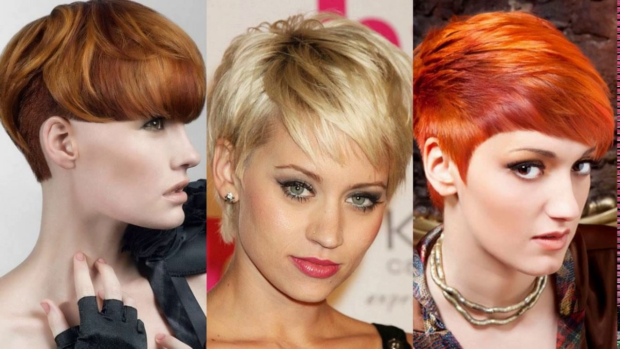U Cut Hairstyle For Short Hair: Short Haircuts For Over 50 With Glasses