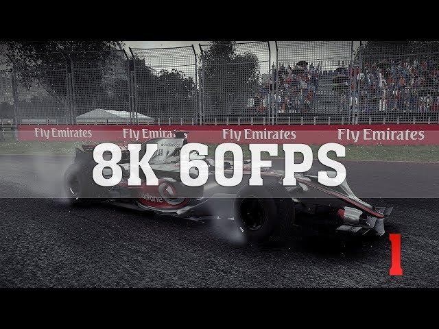 F1 2018 8K PC Gameplay ULTRA Settings [8K 60FPS] No. 1 | Titan RTX SLI (NVLink) | ThirtyIR