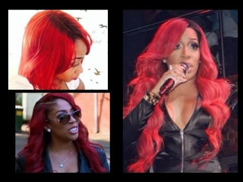 how to make black roots on lacefront wig diy nelly red
