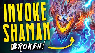 Most BROKEN Deck in ALL Hearthstone History? | Galakrond Shaman | Descent of Dragons