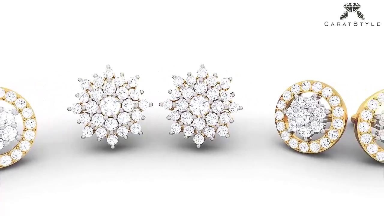 Knot of Diamonds : Cluster Collection - Designer Diamond ...