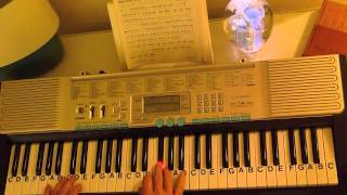 How to Play ~ I Surrender All ~ Gospel Hymn ~ LetterNotePlayer ©