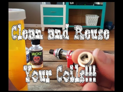 Cleaning sub ohm tank coils