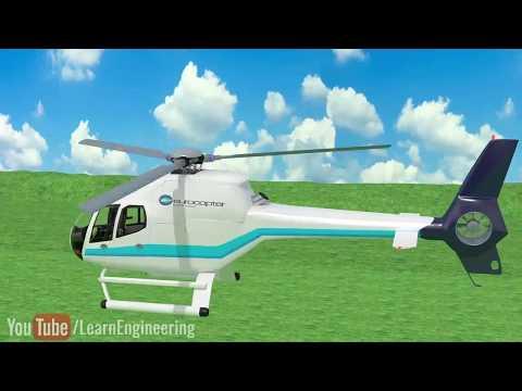 Как летает вертолет?
