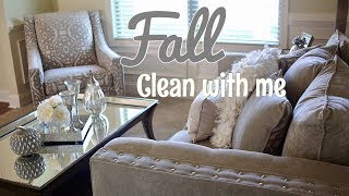 Fall Clean with Me & Decorate (Formal Living & Foyer)